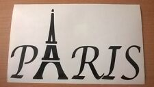 paris fun vinyl car sticker rear window back wall art france french eiffel tower