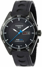 Tissot PRS 516 Powermatic 80 Black Automatic Men Watch T1004303720100 New in Box