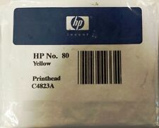 ORIGINAL & SEALED HP80 / C4823A YELLOW PRINTHEAD - SWIFTLY POSTED