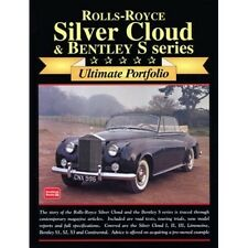 Rolls-Royce Silver Cloud & Bentley S Series Ultimate Portfolio book paper car