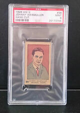 1926 W512 Johnny Weismuller Card # 38 PSA MINT 9 !!