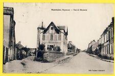 cpa 53 MONTSÛRS Rue de la LIBERATION et des Frères Cléret Gendarmerie Nationale