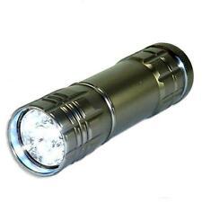 NEW Neiko Super-Bright 9 LED Heavy Duty Compact Aluminum Flashlight