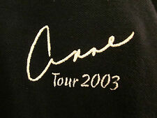 ANNE MURRAY Crooning tour 2003 embroidery 2XL polo shirt XXL Canadian folk