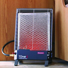 Portable Gas Catalytic Heater 6000 BTU LP Wave Space Room Safety Room RV Warmer