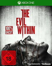 The Evil Within XBox One inkl. DLC The Fighting Chance Pack D1-Version Neu OVP