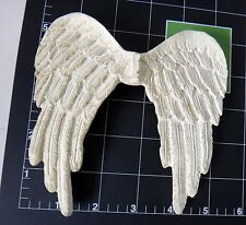 Wings angel white BJD dollfie resin hand carved mold vintage doll fairy