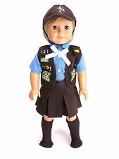 "18 Inch Doll Clothes - Adorable Girl Scout Brownie Outfit | Fits 18"" American..."