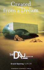 ABSTRACT Original SALVADOR DALI Surreal Art Poster Print ST PETERSBURG FLORIDA