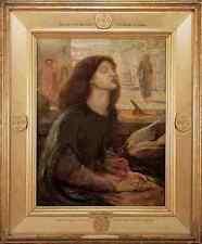 Rossetti Beata Beatrix 1877 A3 Box Canvas