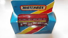 Matchbox Superfast Super Fast #17 London Bus NICE TO MEET YOU 1984 mint boxed!