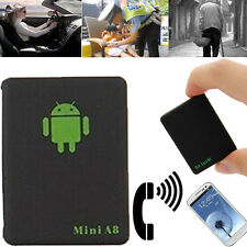 Car Vehicle GPS Tracker Locator Track Device Mini A8 Tracking Black
