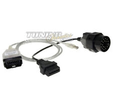 OBD Diagnose USB Interface Ediabas INPA K+DCAN Adapter Stecker für BMW #7390
