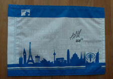 Andrew BEEF JOHNSTON SIGNED AUTOGRAPH AFTAL COA European Golf Flag Race to Dubai