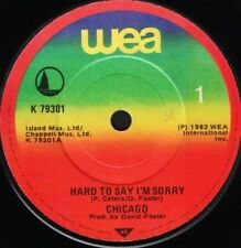"""CHICAGO hard to say i'm sorry 7"""" WS EX/ wea K79301 import"""