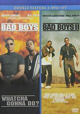 Bad Boys/Bad Boys 2 (DVD, 2011) NEW Will Smith Double Feature