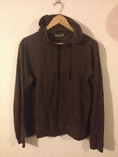 Cherokee Thin Cotton Jersey Jacket Size 18 Chocolate Brown  R11413