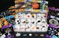 'Crystal Therapy Cards' Collection Kit 40 Specimens in Storage Case