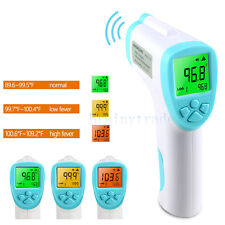 Body Skin Digital Non-contact Infrared IR Thermometer For Baby Kids Adult