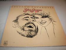 Yes Giorgio Original Soundtrack Luciano Pavarotti LP NM London PVD9001 1982