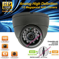HD AHD 720p/960H 1.0MP Wide Angle Night Vision Outdoor CCTV Security Dome Camera