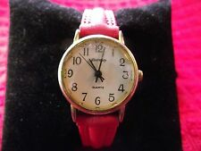 Eternity Woman's Watch with Red Band lot B1 360