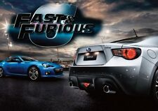 Fast And Furious 6 Cars POSTER