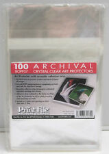 "BOPP57 (100) PrintFile Archival Print Preservers 5x7"" Crystal Clear - NEW F"