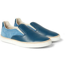 Maison Martin Margiela 22 New Blue Low-top Men's Slip-on Sneakers 9/42 NIB $490