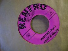 MINT/M- ORIG NORTHERN SOUL 45~BUDDY McKNIGHT~EVERYTIME-PART 1 & 2~on RENFRO~HEAR