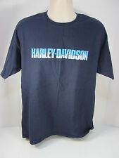 Genuine Harley Davidson Large Blue Eagle Mountain State College Pa T Shirt #11E