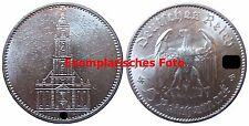 J357 5 Reichsmark Garnisonskirche  1935 A in SS  435048