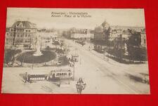 BELGIQUE ANVERS PLACE DE LA VICTOIRE 1925  R647