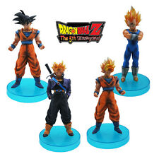 "Dragonball Z Dragon ball DBZ Goku 4pc 4.5"" Action Figures Set pvc Anime 12cm"