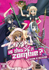 Is This A Zombie? . The Complete Series Collection . Anime . 2 DVD . NEU