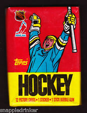 1987-88 Topps Hockey Unopened Wax Pack
