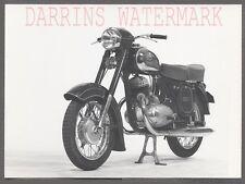 Vintage 1950s Photo Jawa 353 354 Motorcycle 701042