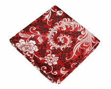 Lord R Colton Masterworks Pocket Square - Kyoto Kimono Red Silk - $75 New