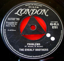 "Everly Brothers Problems 7"" UK ORIG 1958 Tri-Centre London b/w Love Of My Life"
