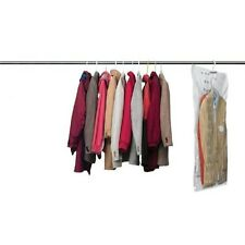 SET OF 4 VACUUM SEAL HANGING GARMENT BAGS - SPACE SAVER SAVING STORAGE