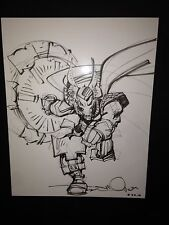 Beta Ray Bill by Walter Simonson 11x14 Commission Sketch Cover Art Thor Marvel