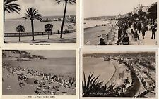 Lot 4 cartes postales anciennes NICE 7