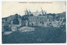 Tunisia - Carthage, Les Ruines de la Colline St-Louis. - Vintage postcard