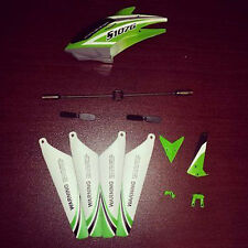 Replacement Parts Set for Syma Green S107G Metal 3Ch gyro Gyroscope RC Helicopte