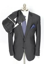 Mens BRIONI Colosseo 22 Solid Gray All Season Wool Slim-Fit 2Btn Suit 44 R NWT