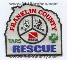 Franklin County Rescue Patch Unknown State