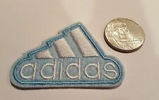 "ADIDAS PATCH  Logo PATCH embroidered iron on Patches   patch 2"" x 1.5""  power bl"