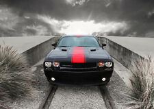 AMAZING DODGE CHALLENGER NEW A1 CANVAS GICLEE ART PRINT POSTER FRAMED