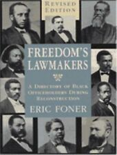 Freedom's Lawmakers: A Directory of Black Officeholders During-ExLibrary