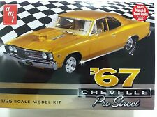 AMT 1/25 1967 Chevy Chevelle Pro Street Car Plastic Model Kit 876
